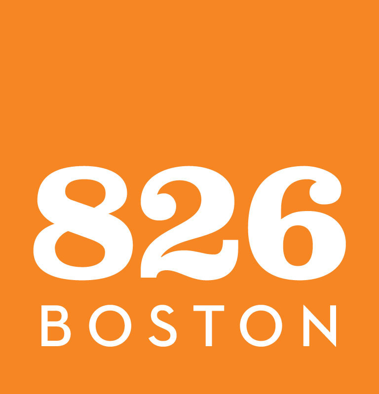 826 Boston logos orange small